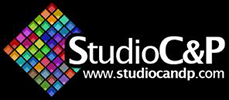 Logo studio d'enregistrement C&P