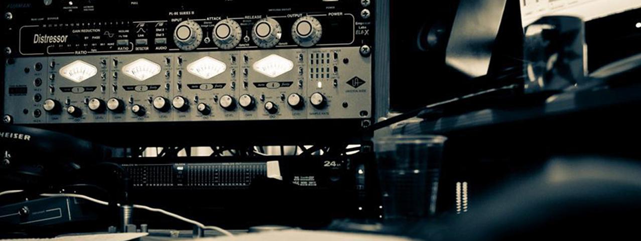 Mixage audio au Studio C&P 1